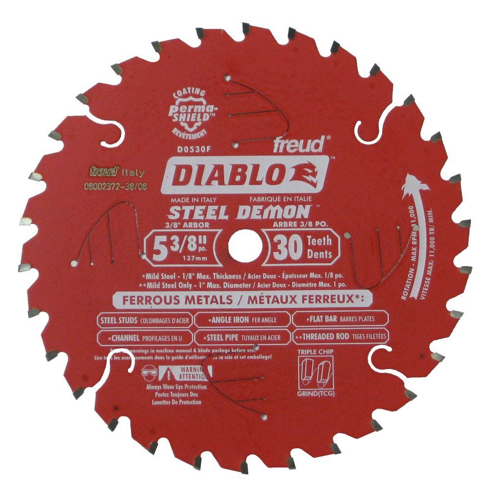 Diablo Ferrous Metal Blade 5-3/8 Inch