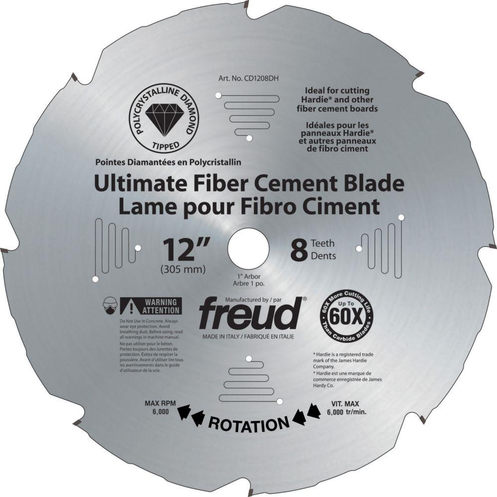 12-inch Diablo PCD Ultimate Fiber Cement Blade