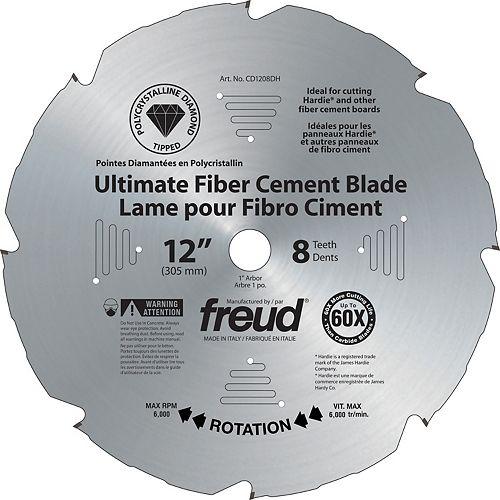 Freud 12-inch Diablo PCD Ultimate Fiber Cement Blade