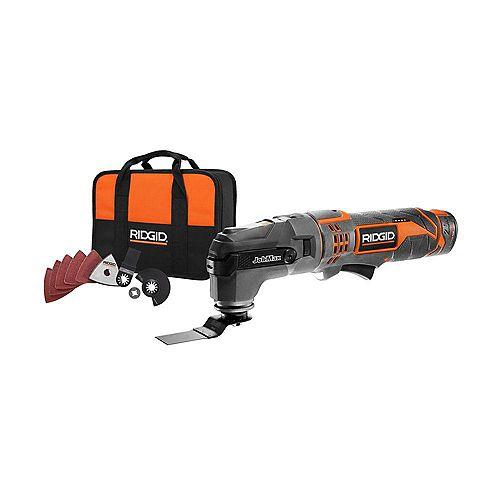 RIDGID JobMax 12V Multi-Tool with Tool Free Head