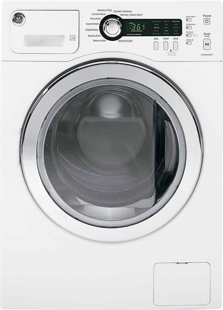 2.6 cu. ft. High-Efficiency Front Load Washer in White - ENERGY STAR®