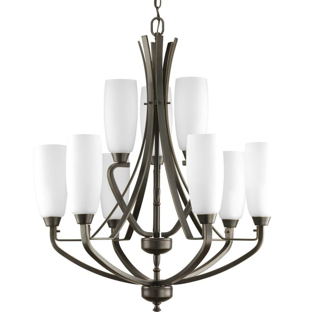 Wisten Collection 9-Light Antique Bronze Chandelier