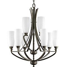 progress lighting fiorentino collection forged bronze. wisten collection 9-light antique bronze chandelier progress lighting fiorentino forged t