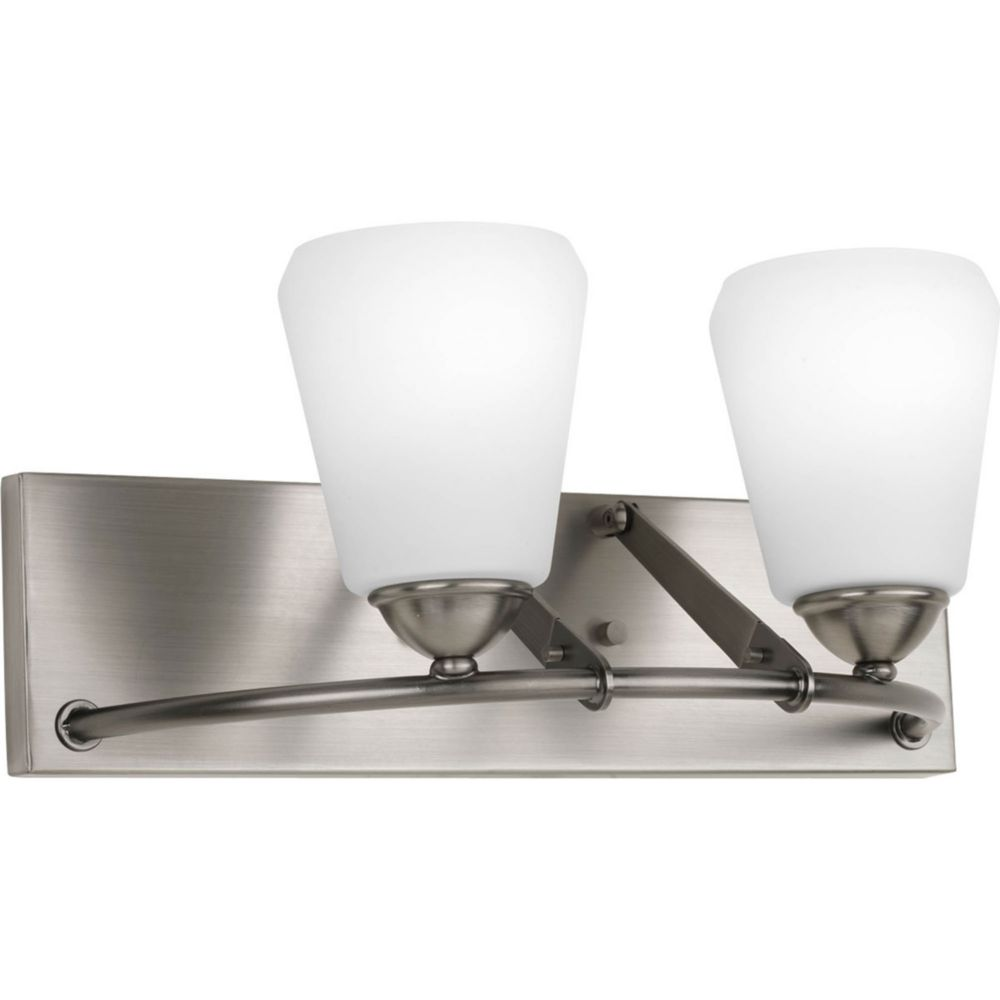 Moments Collection 2 Light Antique Nickel Bath Light
