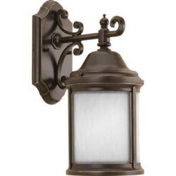 Progress Lighting Ashmore Collection 1 Light Antique Bronze Wall Lantern