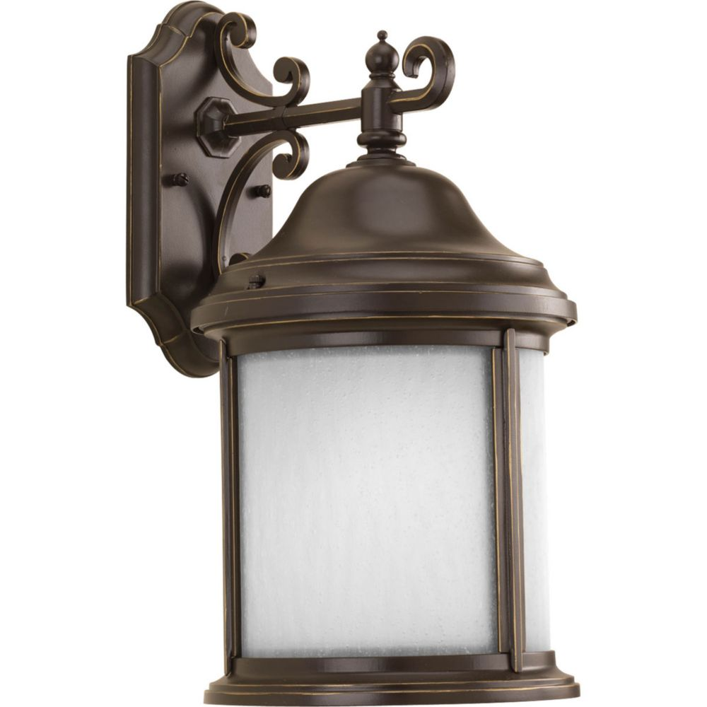 Ashmore Collection 1 Light Antique Bronze Wall Lantern
