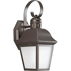 Progress Lighting Andover Collection 1 Light Antique Bronze Wall Lantern