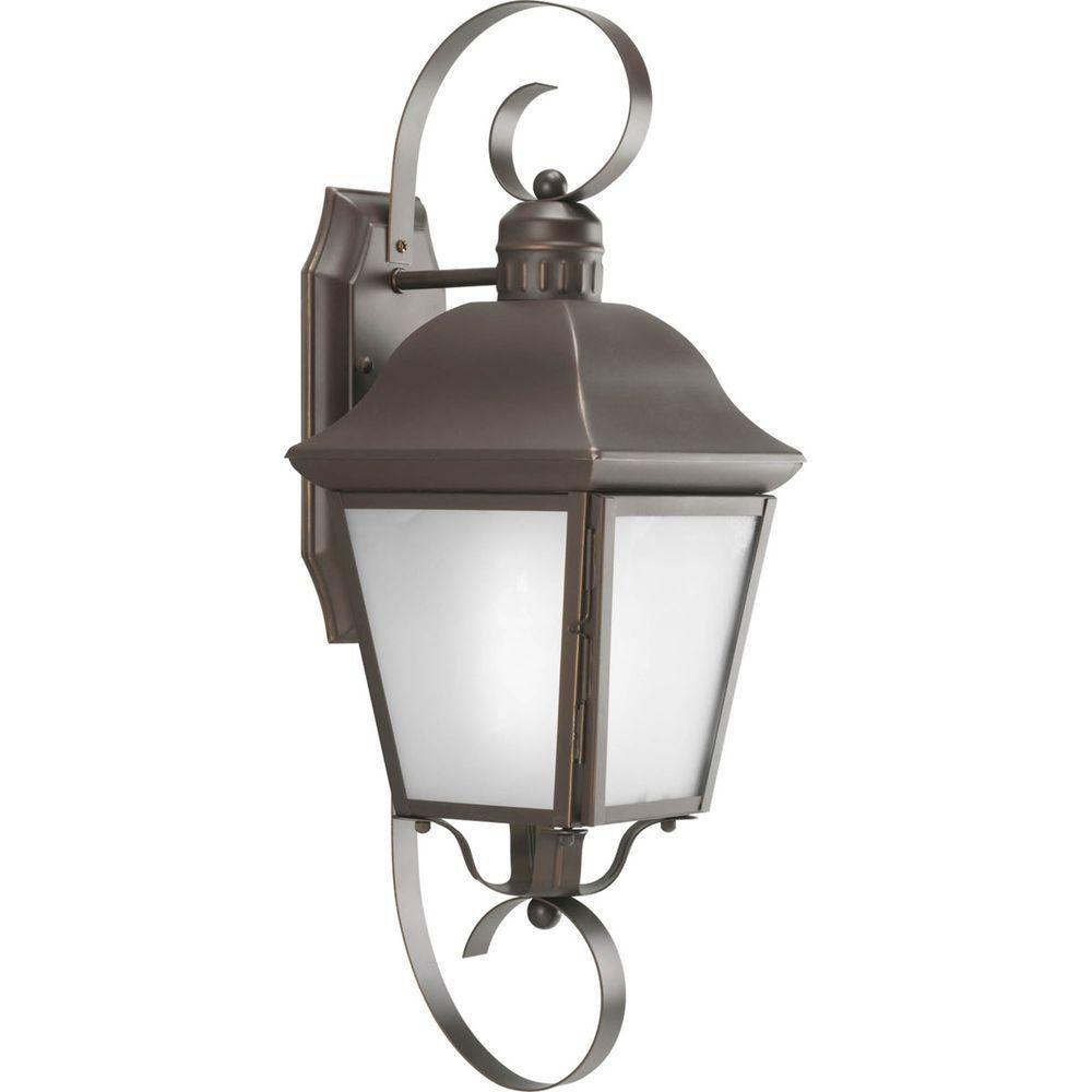 Andover Collection 1 Light Antique Bronze Wall Lantern