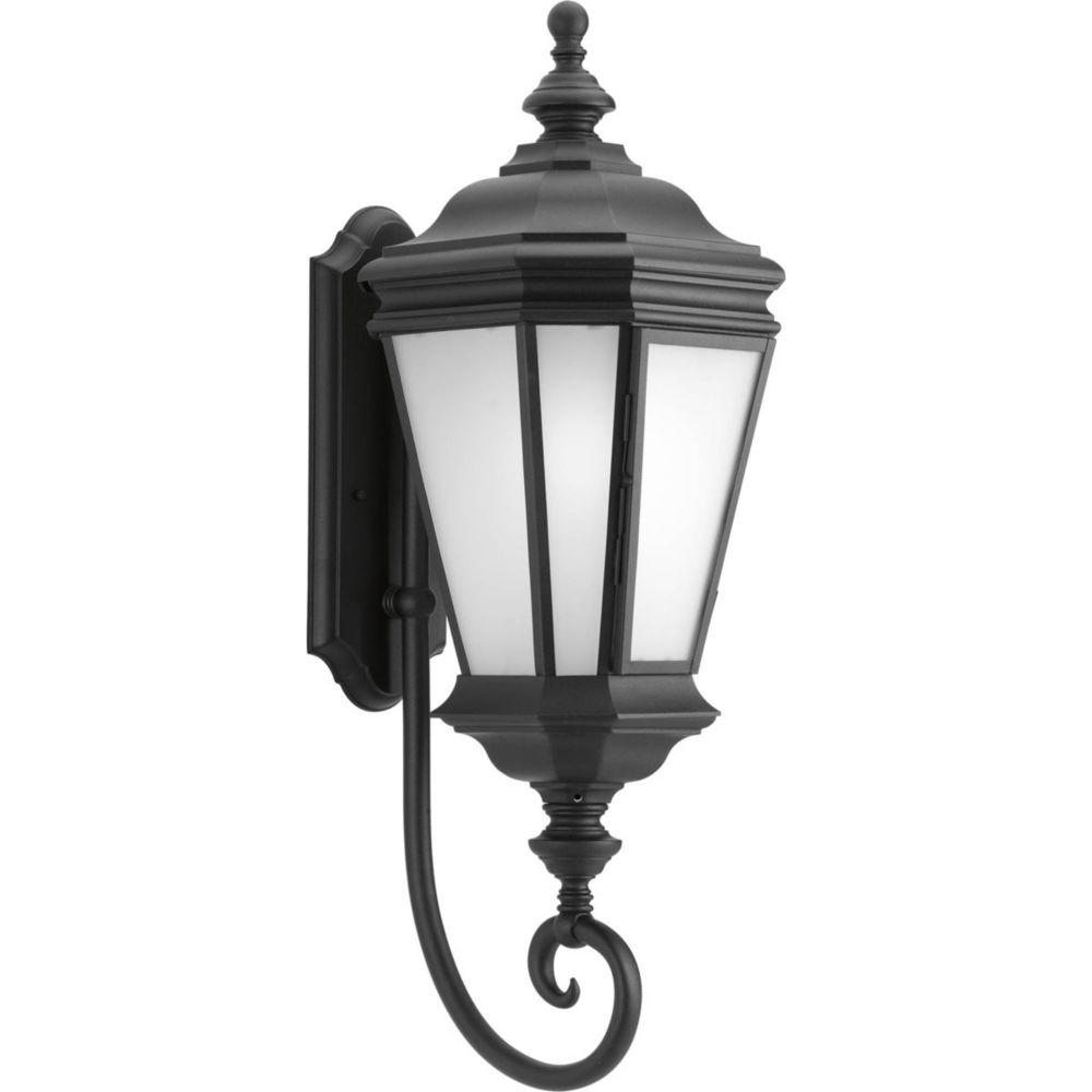 Crawford Collection 1 Light Black Wall Lantern