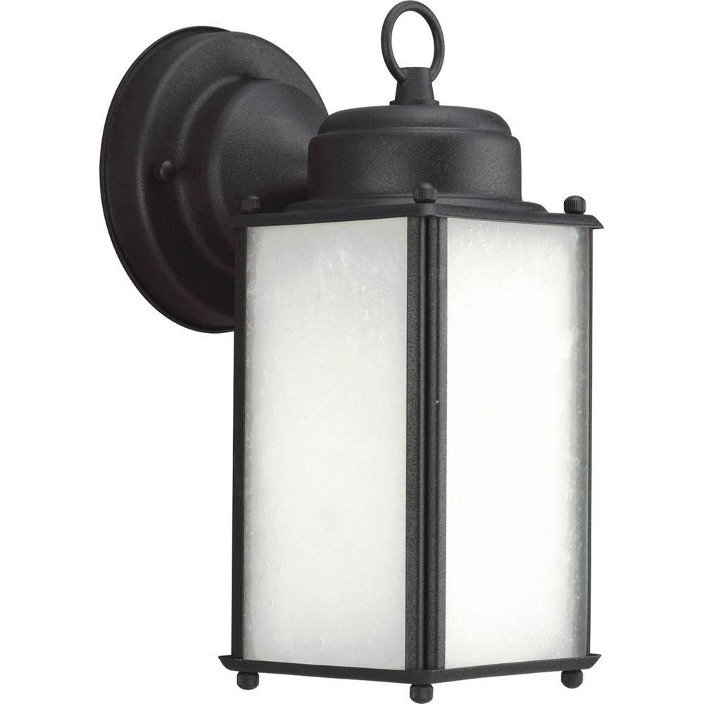 Roman Coach Collection 1- Light  Black Wall Lantern