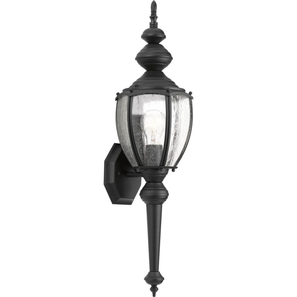 Roman Coach Collection 1- Light  Black Wall Lantern