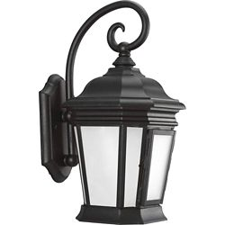 Progress Lighting Crawford Collection 1- Light  Black Wall Lantern