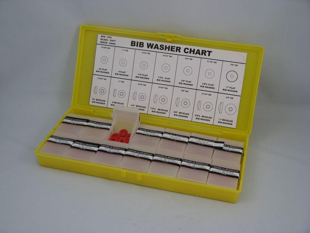 Assortiment Standard Rouge Bibb rondelles - Trousse d'entrepreneur