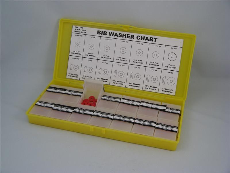 """Emballage pour entrepreneurs: Assortiment du rondelles """"Bibb"""" dur et blanc - Kit"""