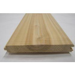 Cedar 11/16x6x6 inch Fence Board cedS1S2E V4E T&G #2 & Better