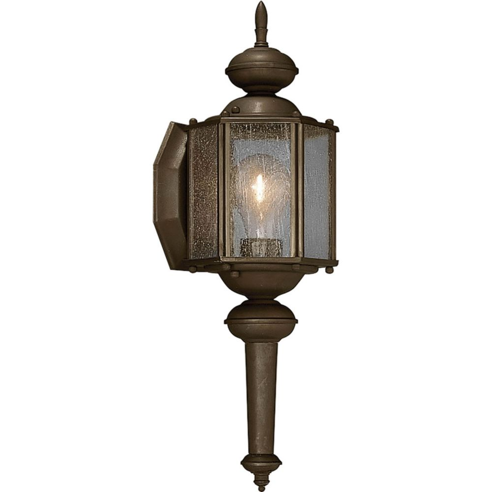 Roman Coach Collection 1- Light  Antique Bronze Wall Lantern
