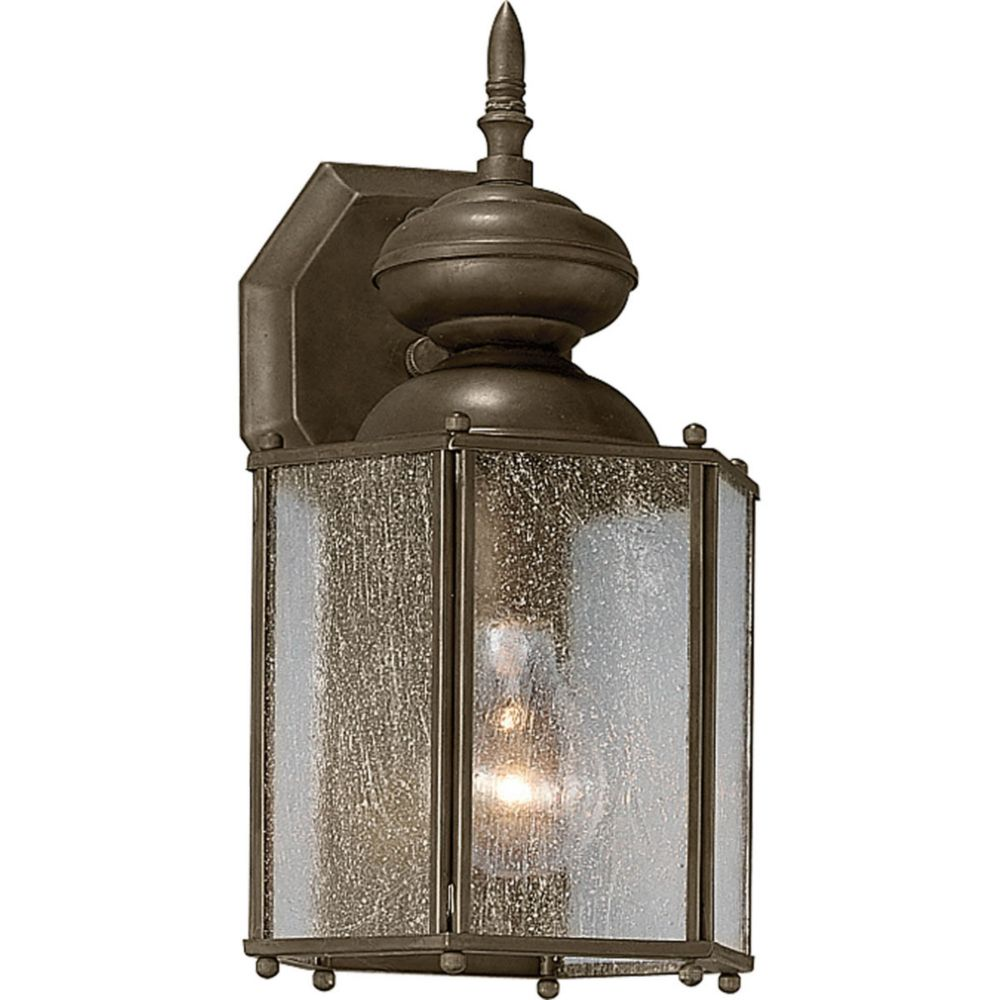 Roman Coach Collection 1- Light  Antique Bronze Wall Lantern