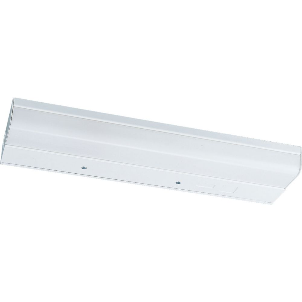 24 Inches White Undercabinet Fixture