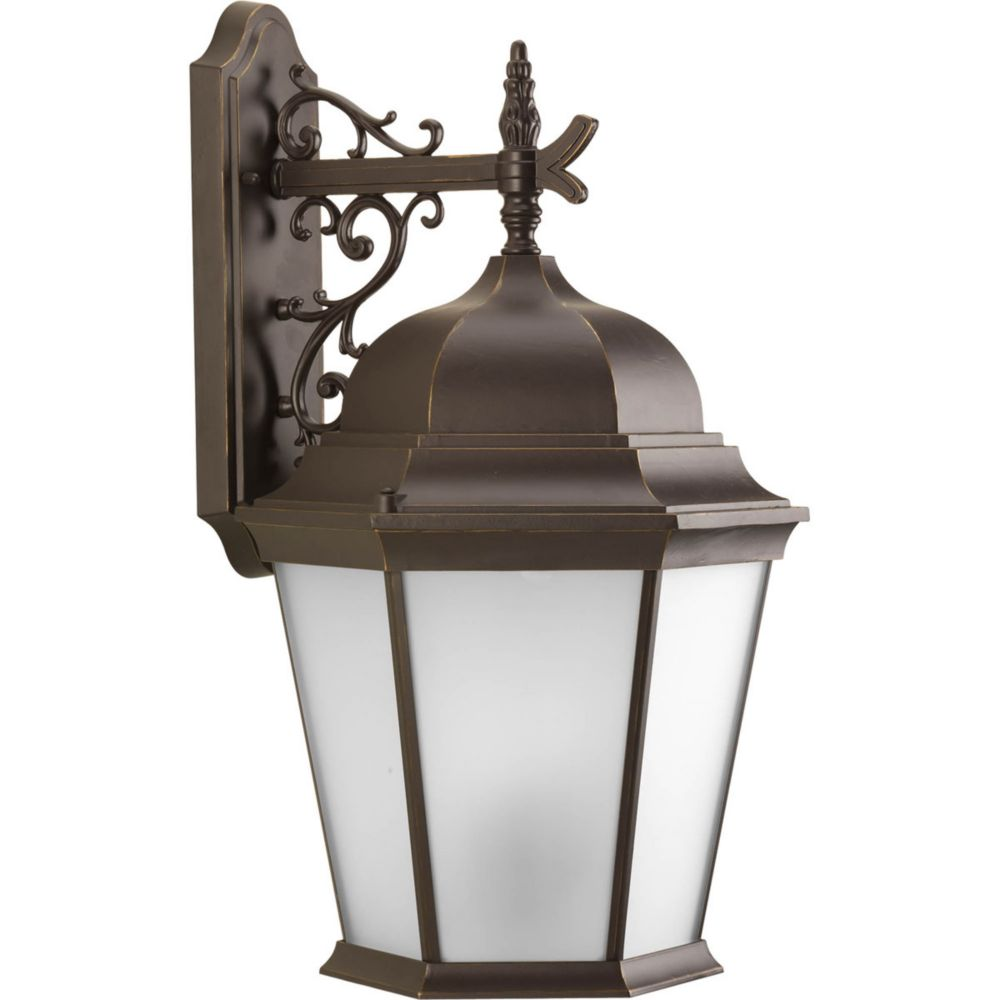 Welbourne Collection 3- Light  Antique Bronze Wall Lantern