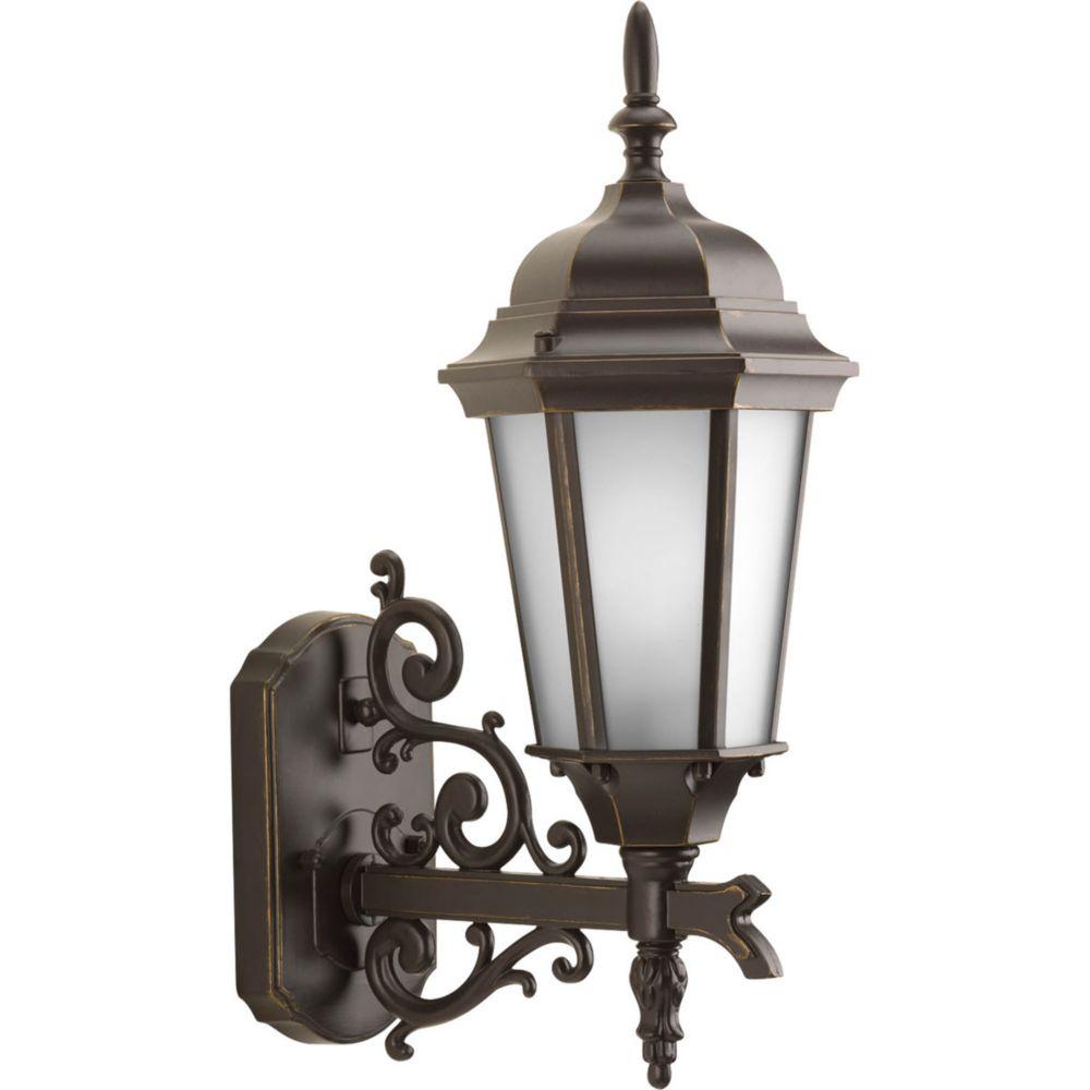 Welbourne Collection 1 Light Antique Bronze Wall Lantern