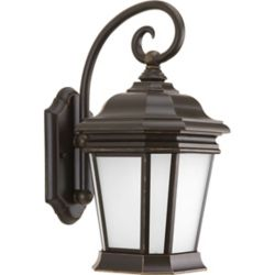 Progress Lighting Crawford Collection 1 Light  Oil Rubbed Bronze Wall Lantern