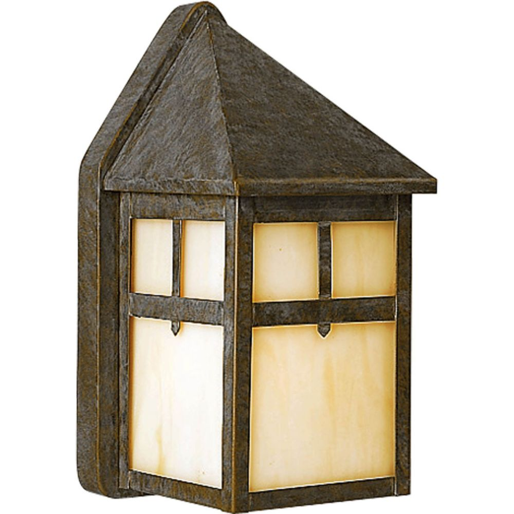 Mission Collection 1 Light Weathered Bronze Wall Lantern