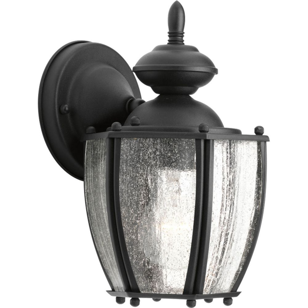 Roman Coach Collection 1 Light Black Wall Lantern