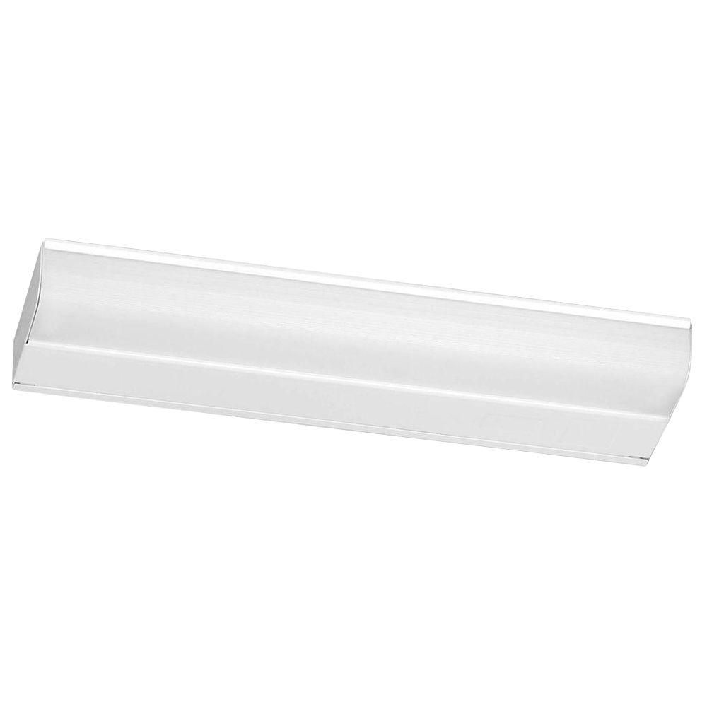12 Inches White Undercabinet Fixture