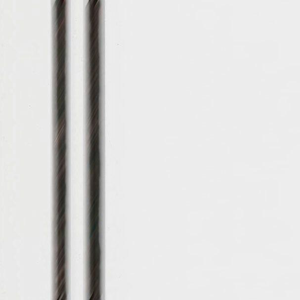 """Plaquette Echantillon Couleur - 3 1/4""""  x 4 7/8"""" - Blanc Opaque GL Essuyé Noir"""
