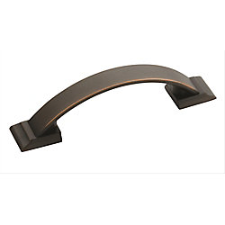 Amerock Candler 3 Inch (76mm) CTC Pull - Oil-Rubbed Bronze