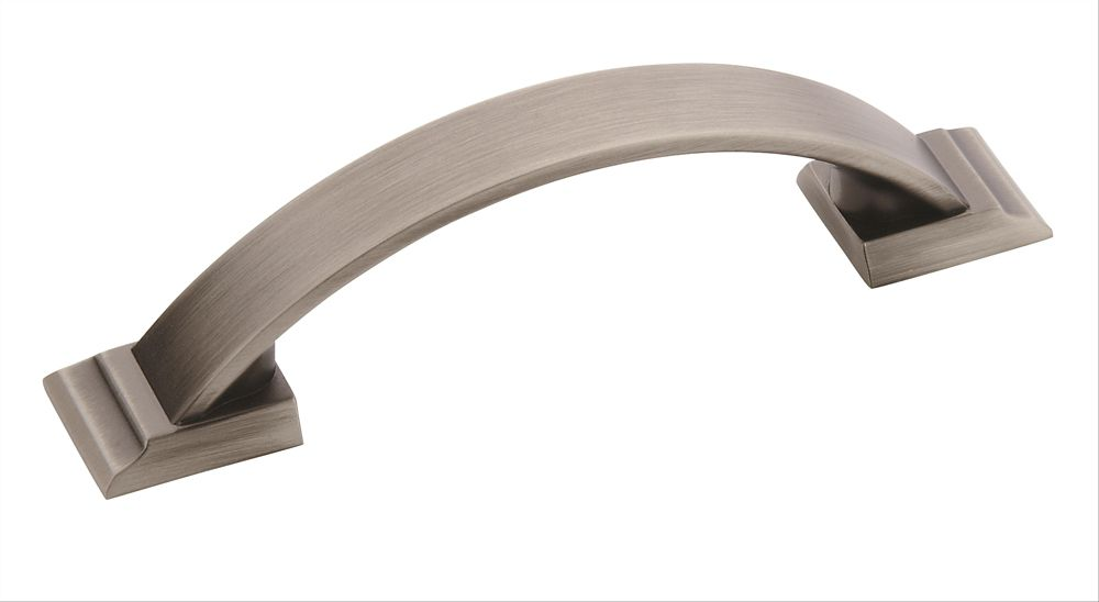 Amerock Candler 3 Inch (76mm) CTC Pull - Antique Silver