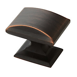 Amerock Candler 1-1/4-inch (32mm) LGTH Knob - Oil-Rubbed Bronze