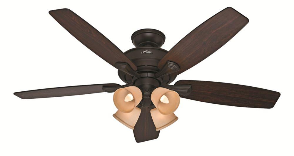 Belmor 52 Inch New Bronze Indoor Ceiling Fan
