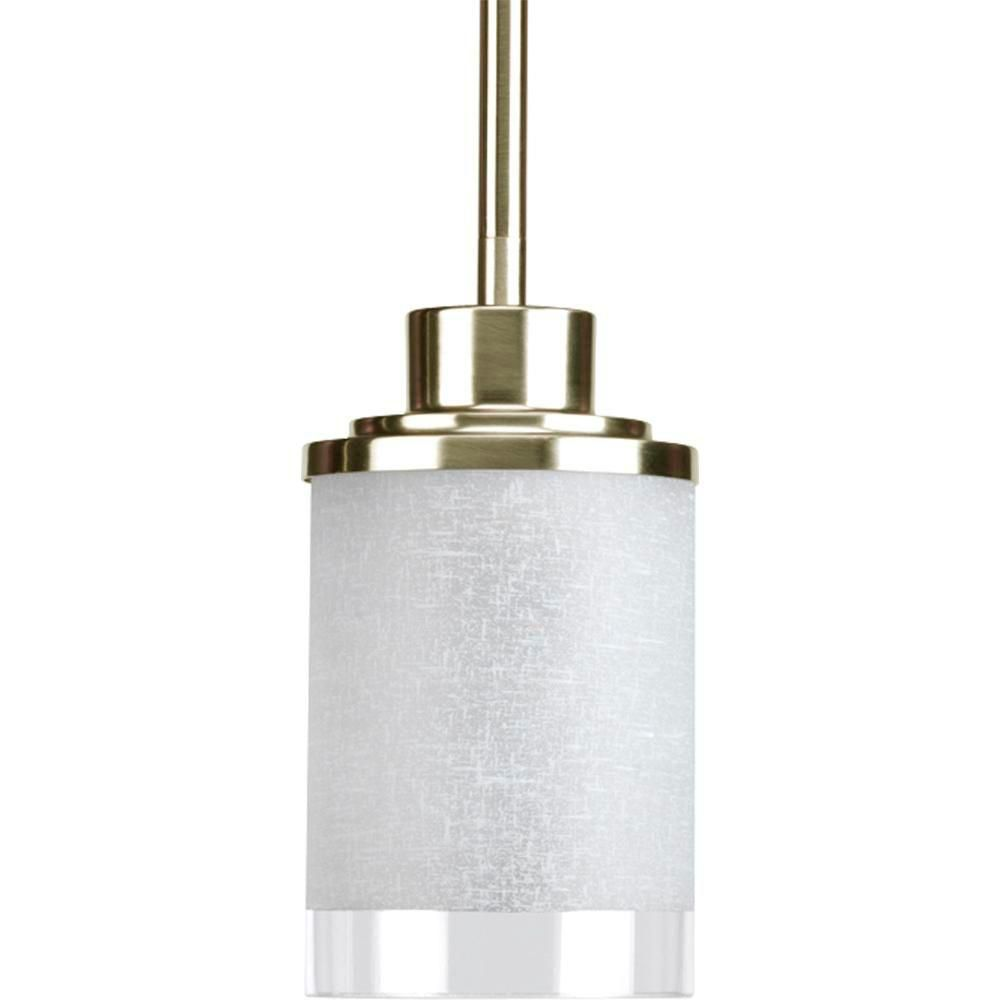 Alexa Collection Brushed Nickel 1-light Mini-Pendant