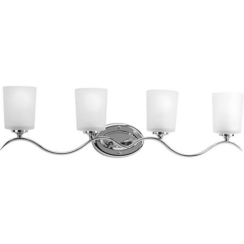Progress Lighting Inspire Collection 4 Light Chrome Bath Light