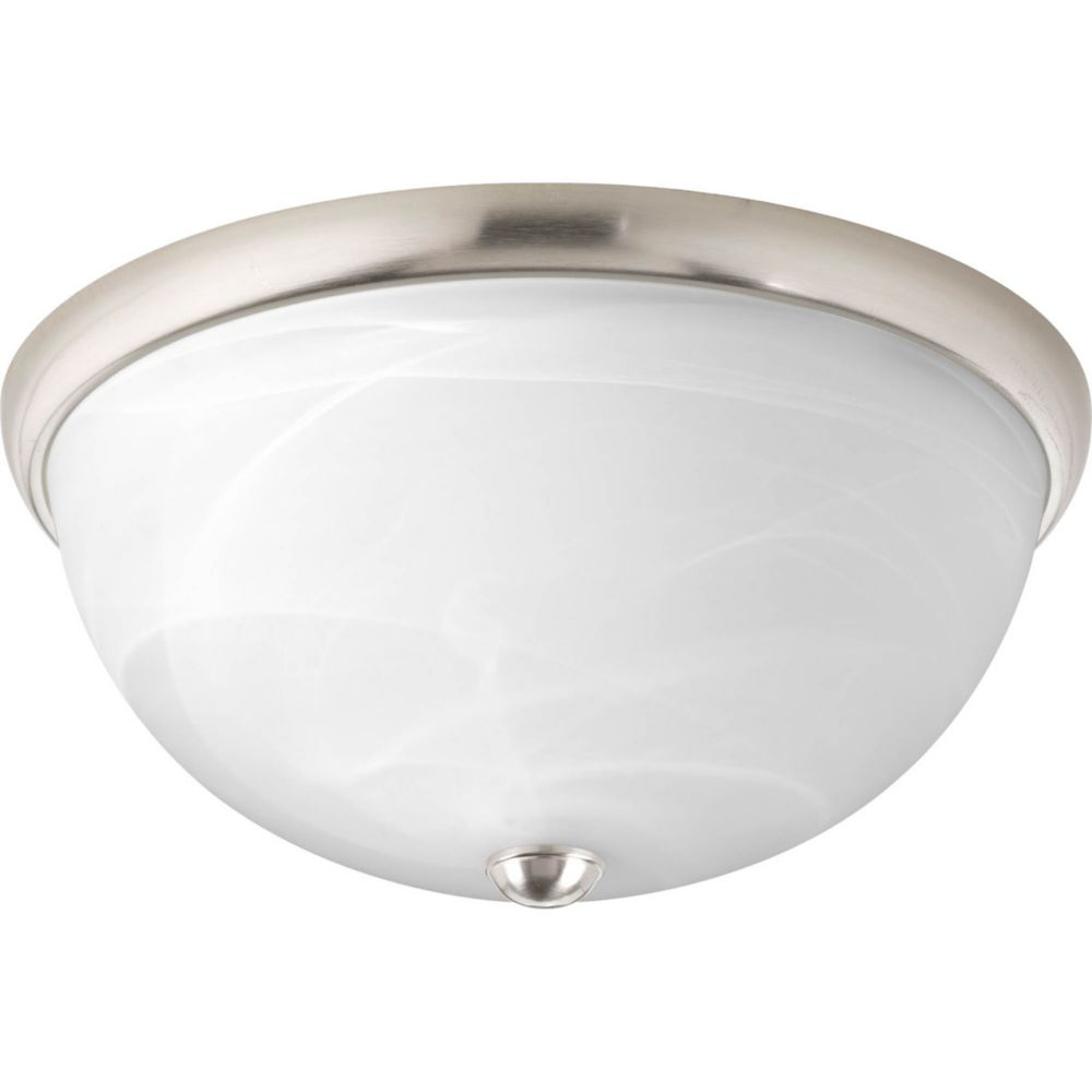 Random Collection 2 Light Brushed Nickel Flushmount 7.85247E 11 Canada Discount