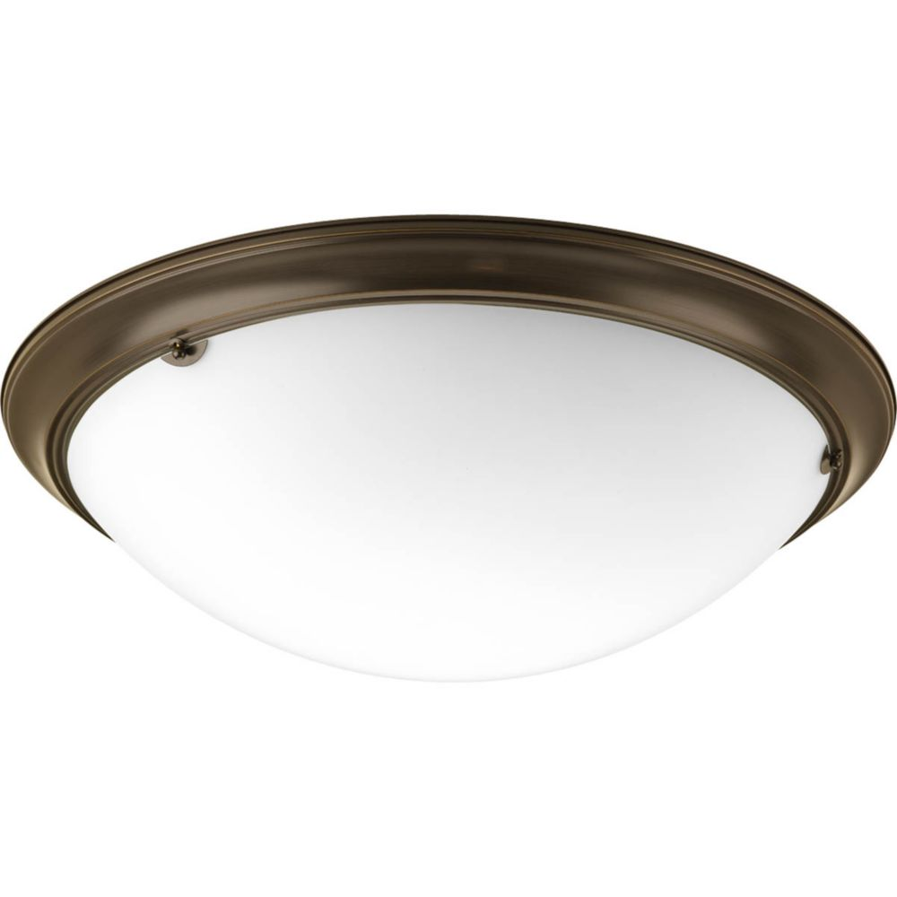 Eclipse Collection 4 Light Antique Bronze Flushmount