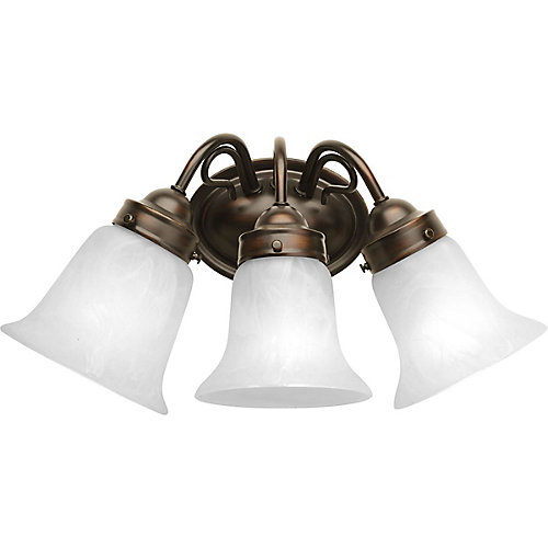 Bedford Collection 3 Light Antique Bronze Bath Light