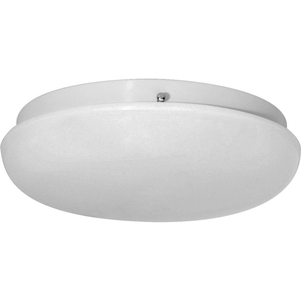 1 Light White Flushmount