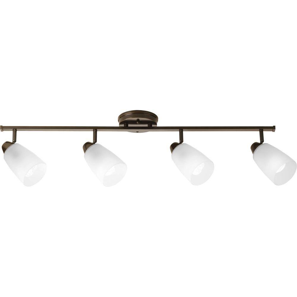 Wisten Collection 4 Light Antique Bronze Spot Light Fixture