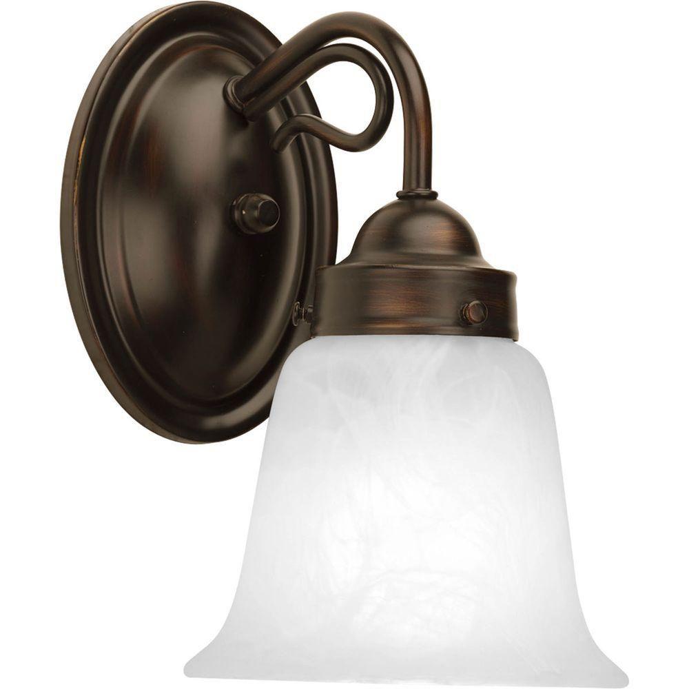 Bedford Collection 1 Light Antique Bronze Bath Light