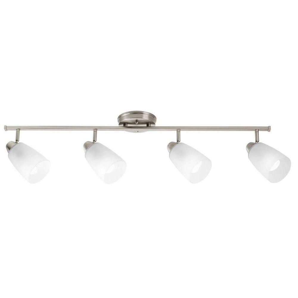 Wisten Collection 4 Light Brushed Nickel Spot Light Fixture 7.85247E 11 Canada Discount