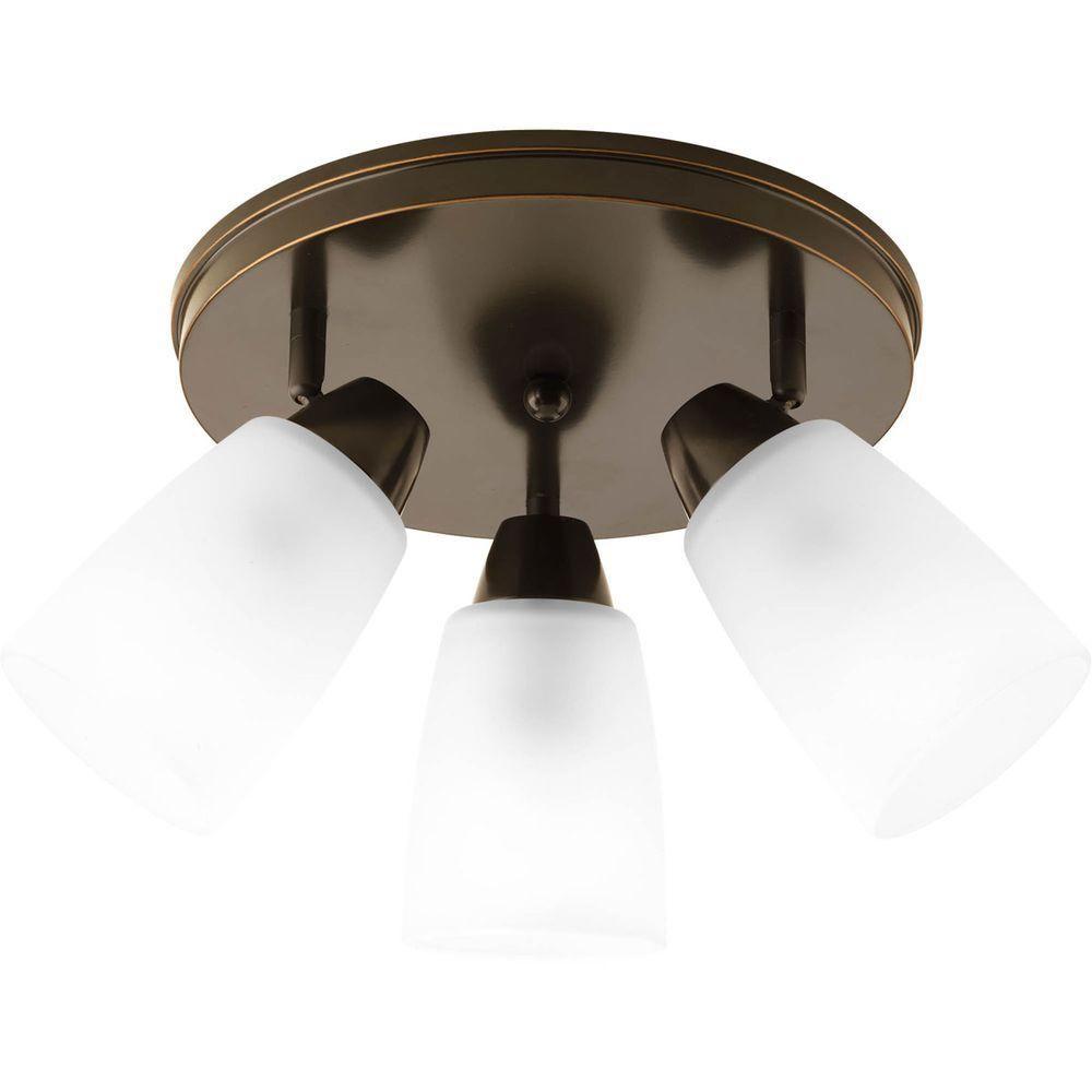 Wisten Collection 3 Light Antique Bronze Spot Light Fixture