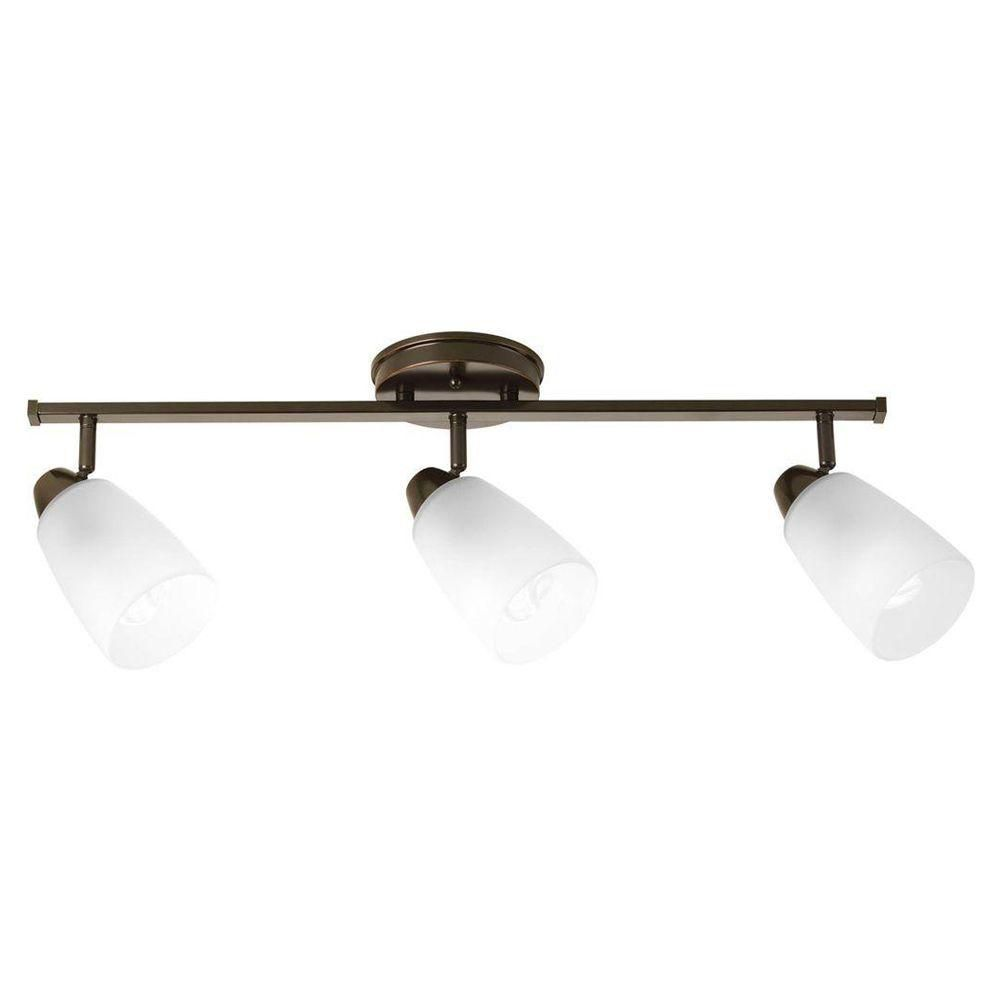 Wisten Collection 3 Light Antique Bronze Spot Light Fixture