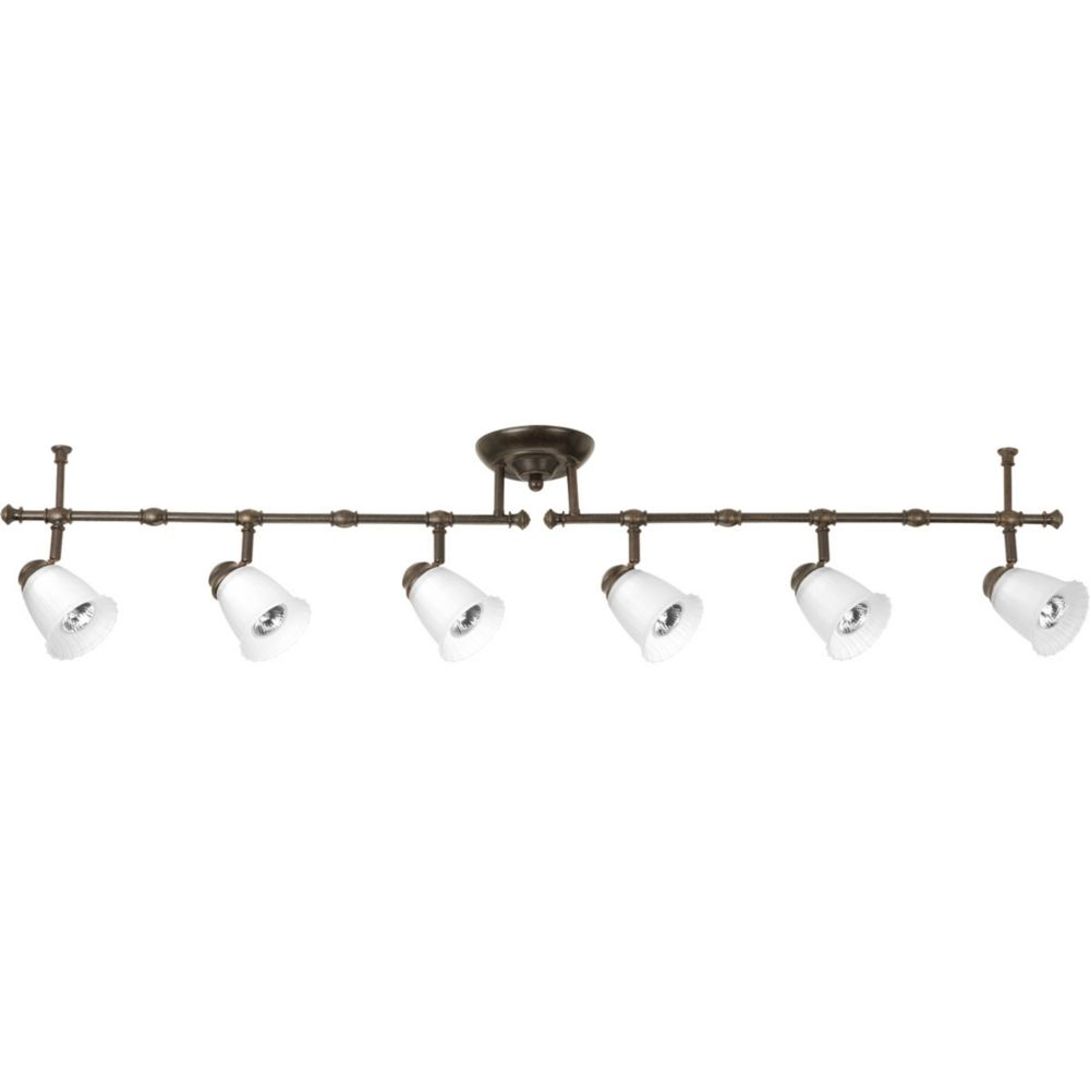 Renovations Collection 6 Light Forged Bronze Spot Light Fixture