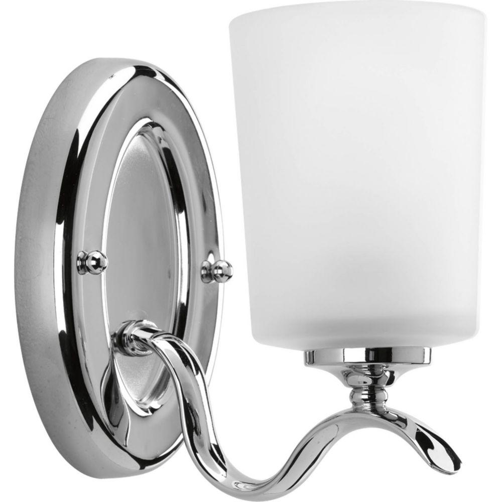 Inspire Collection 1 Light Chrome Bath Light