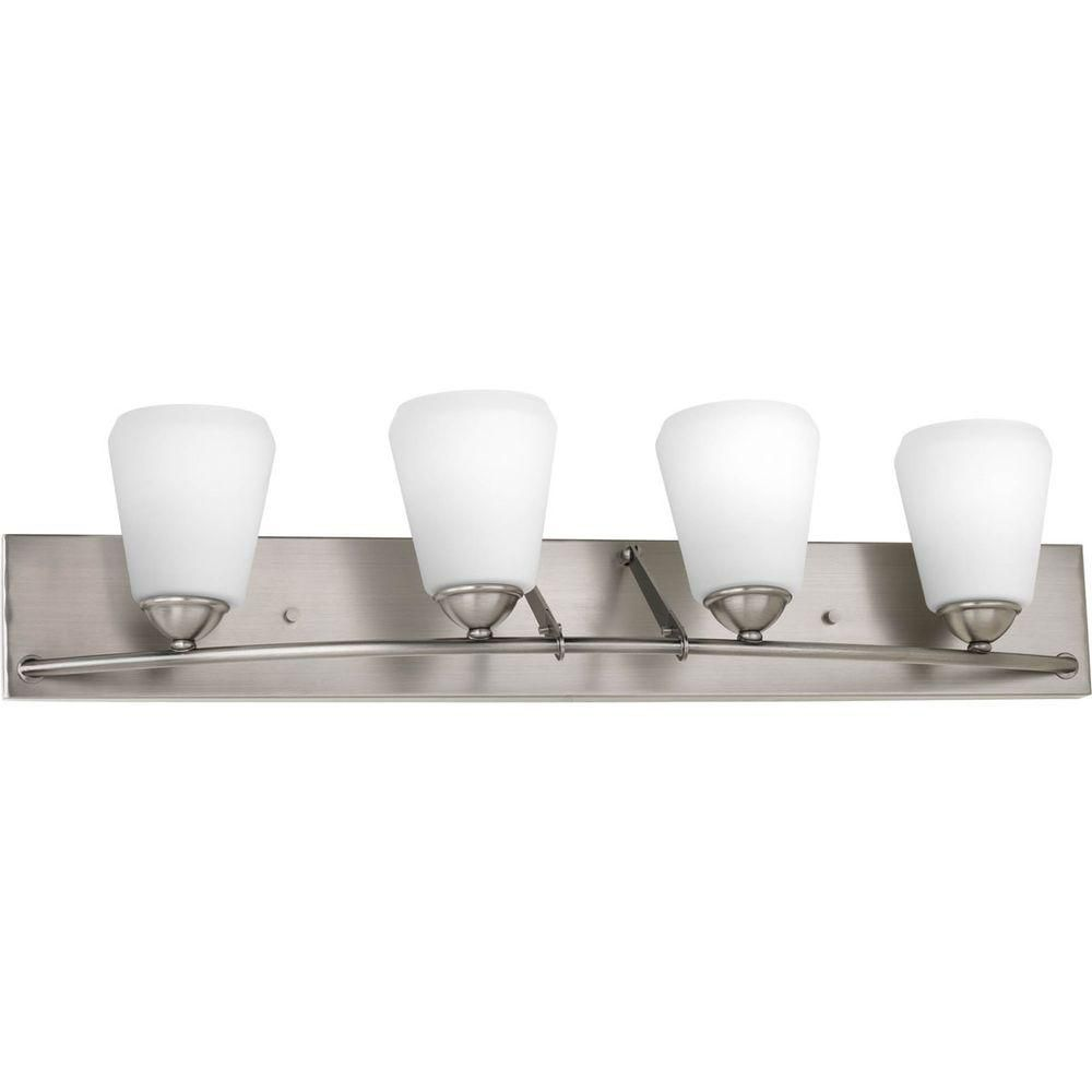 Moments Collection 4 Light Antique Nickel Bath Light