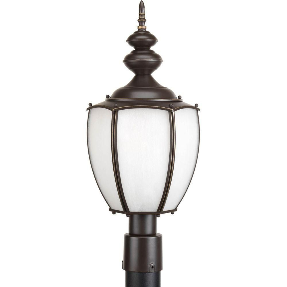 Roman Coach Collection 1 Light Antique Bronze Fluorescent Post Lantern 7.85247E 11 Canada Discount