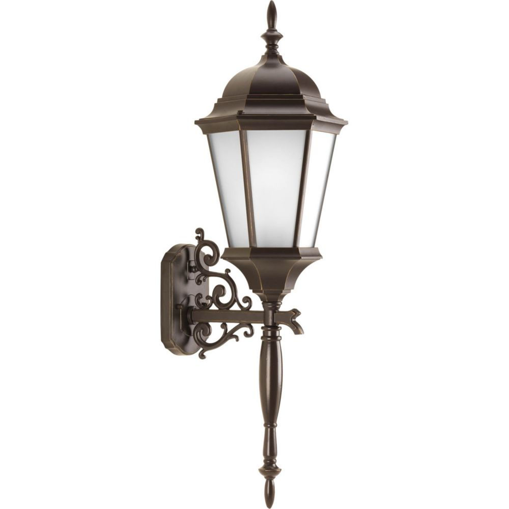 Welbourne Collection 1 Light Antique Bronze Wall Lantern