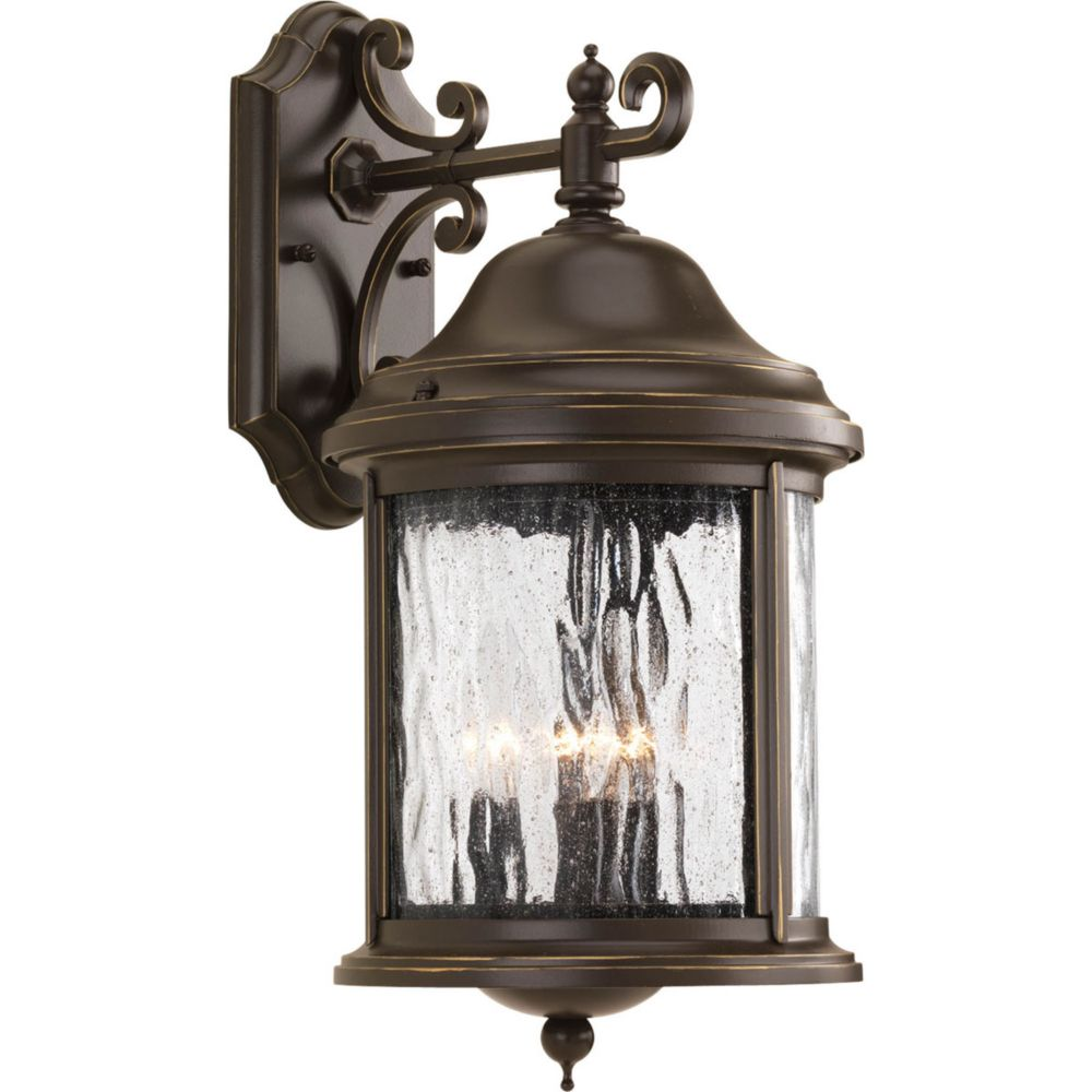 Ashmore Collection 3 Light Antique Bronze Wall Lantern 7.85247E 11 in Canada